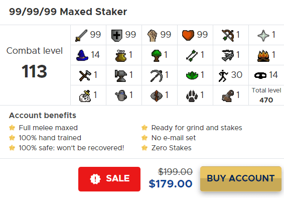 osrs maxed staker