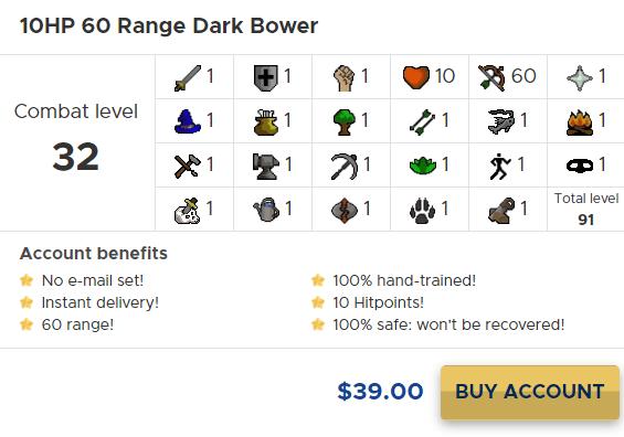 osrs range dark bower
